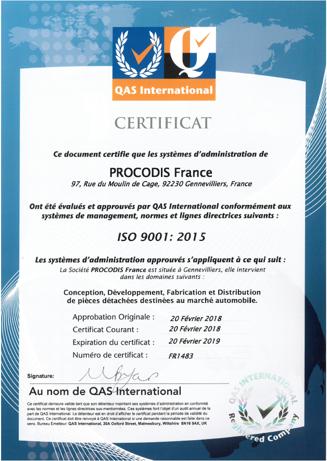 certificat-ISO9001-procodisfrance